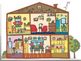 комнаты в доме