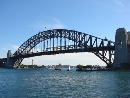 Sydney Harbour Bridge-мост Харбор-Бридж